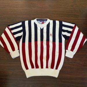 Vintage Tommy Hilfiger Medium Colorblock Sweater